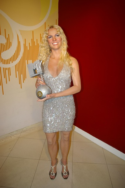 Britney Spears at the MTV awards 2008